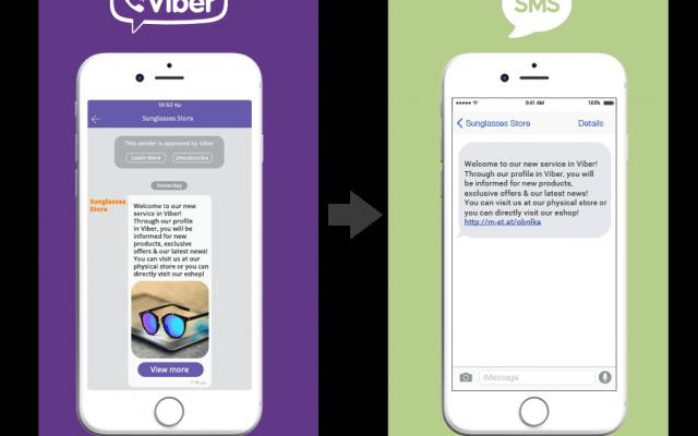 SMS vs Viber [prvi deo]
